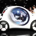 42287 Smart показал свой беспилотный электромобиль (21 фото + 2 видео)