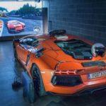 43040 Геймер превратил спорткар Lamborghini Aventador в игровой контроллер (видео)