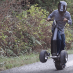 43823 Электрический скейтборд для бездорожья и ненастья (13 фото + видео)