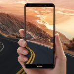 43465 Huawei представила смартфон с двумя двойными камерами и безрамочным дисплеем