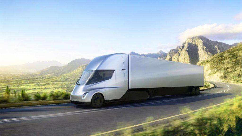 43459 Илон Маск представил электрический грузовик Tesla и новый спорткар