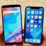 43659 OnePlus 5T и iPhone X прошли тест на производительность (видео)