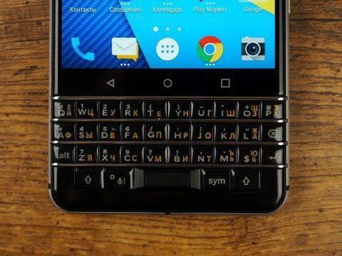 Обзор смартфона BlackBerry KEYone