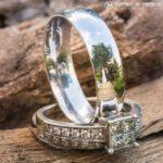 """43908 """"Ringscapes"""" – Свадебные фотографии в отражении колец"""
