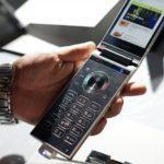 43969 Топовый смартфон-раскладушка Samsung W2018 дороже iPhone X (18 фото + видео)