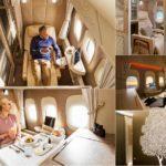 43992 В самолётах Emirates появились капсулы с «нулевой гравитацией» (4 фото + 2 видео)