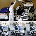 45414 Автомобиль-трансформер для парковки на любом месте (5 фото + видео)