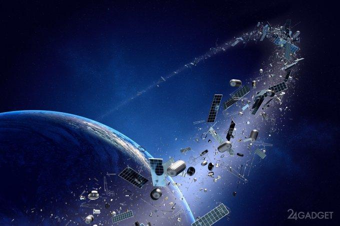 45457 Китайцы решили избавиться от космического мусора лазерами (3 фото + видео)