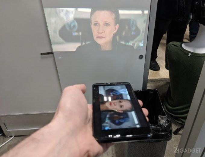 45420 Смартфон Moviphone заменяет 100-дюймовый телевизор (9 фото + видео)