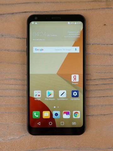 Обзор смартфона LG Q6