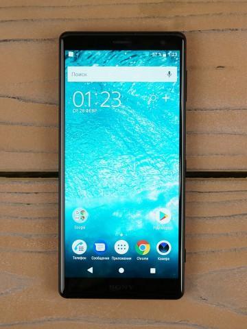 Обзор смартфона Sony Xperia XZ2