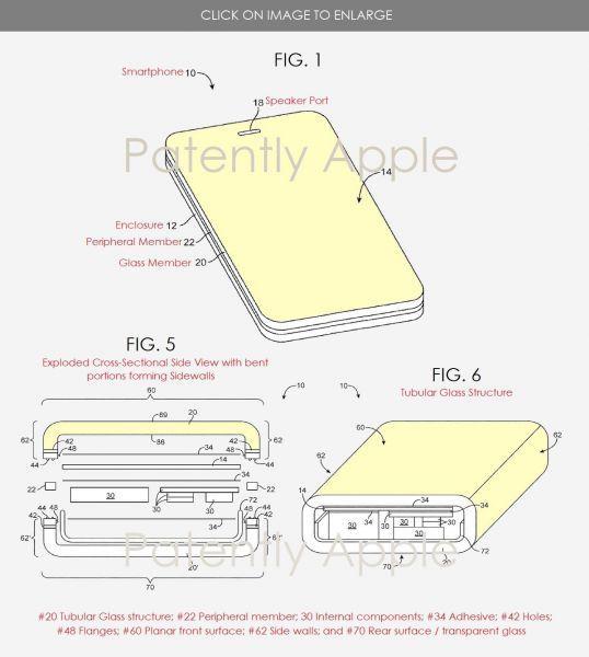 49315 Apple запатентовала iPhone из стекла