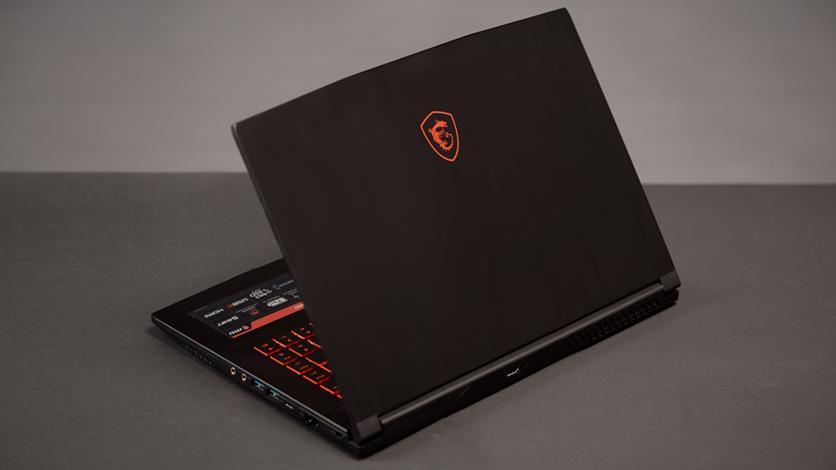 Описание ноутбука MSI GF63 RD