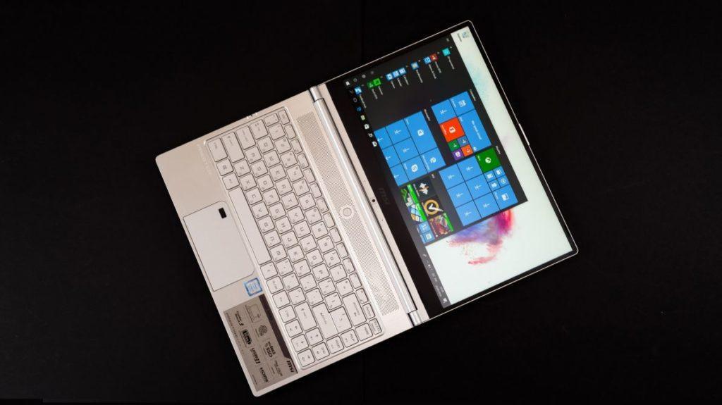 Описание ноутбука MSI PS42