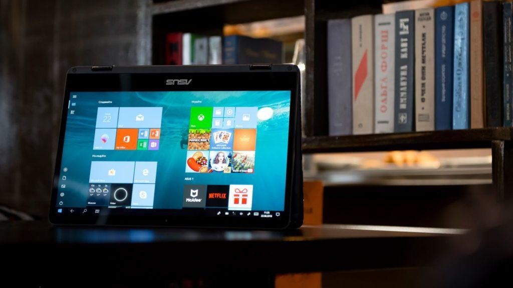 Описание ноутбука ASUS ZenBook Flip 14
