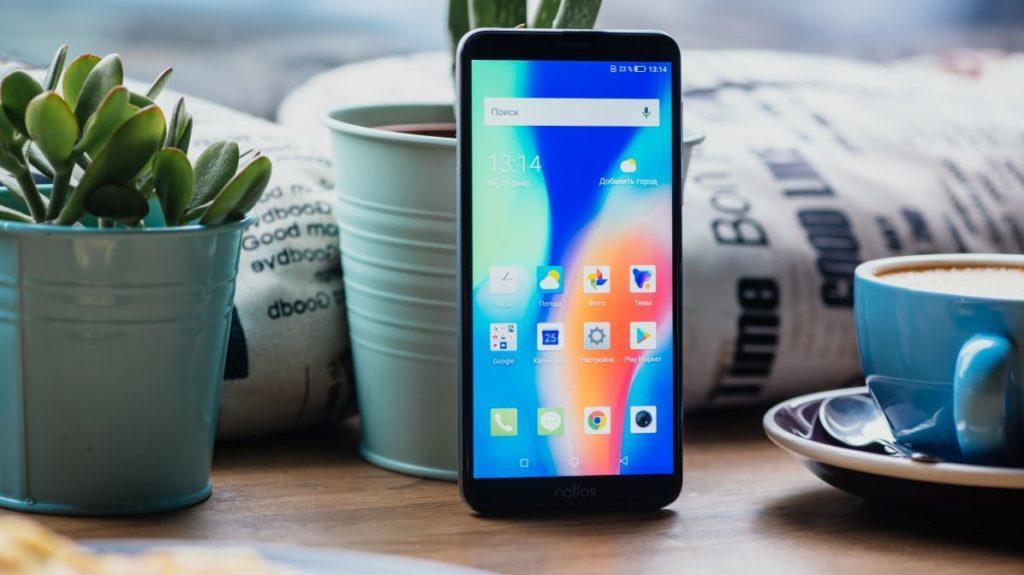 Описание смартфона Neffos C9