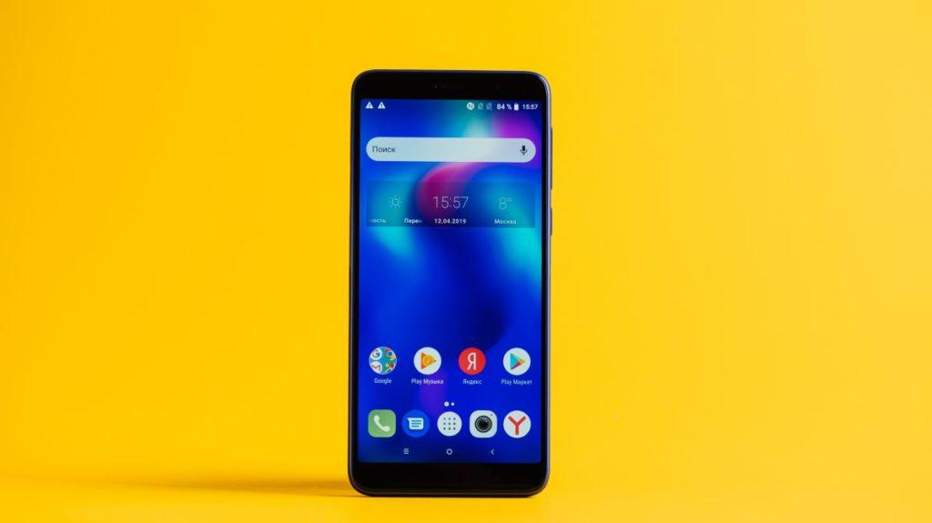 52210 Описание смартфона Alcatel 1X (2019)