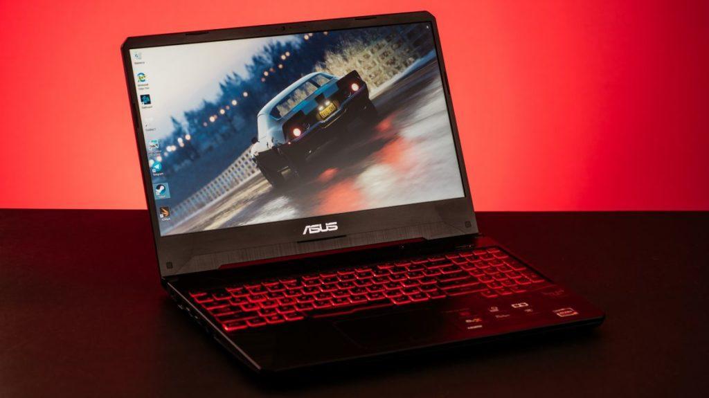 Описание ноутбука ASUS TUF Gaming X505DY