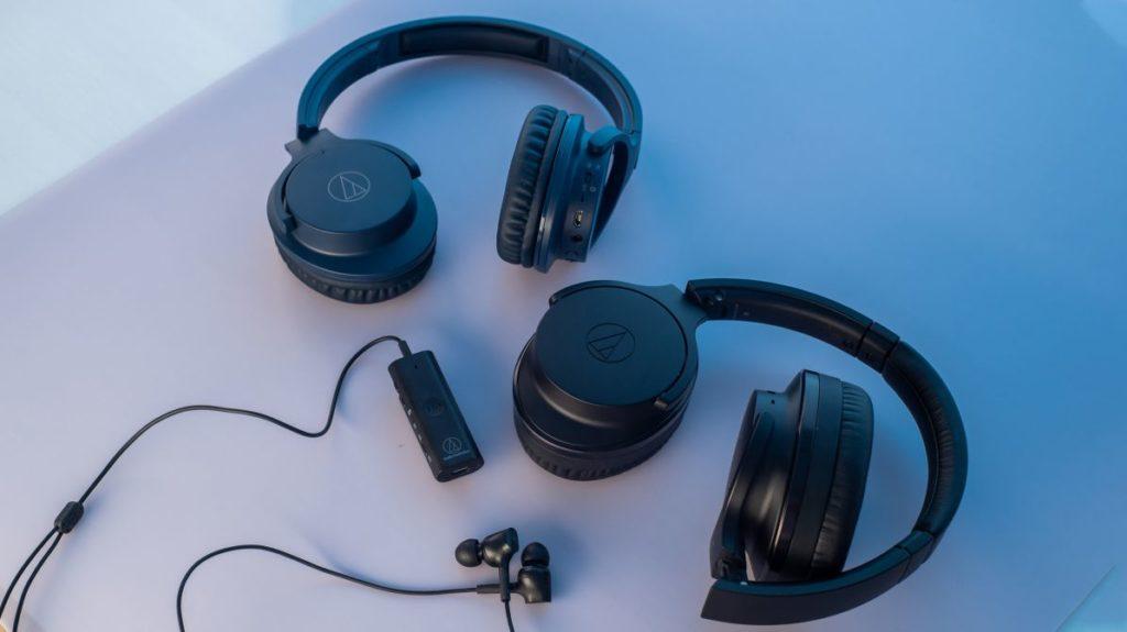 52649 Описание беспроводных наушников Audio-Technica QuietPoint