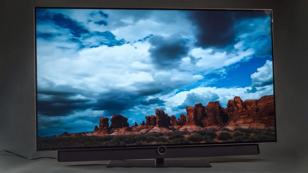 Описание телевизора Loewe bild 4.55