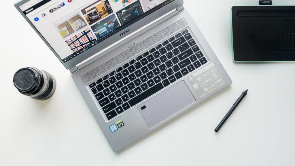 Описание ноутбука MSI P65 Creator 9SE