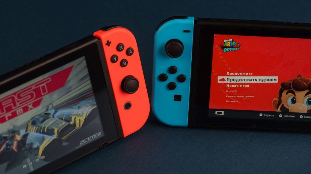Описание Портативной игровой приставки Nintendo Switch