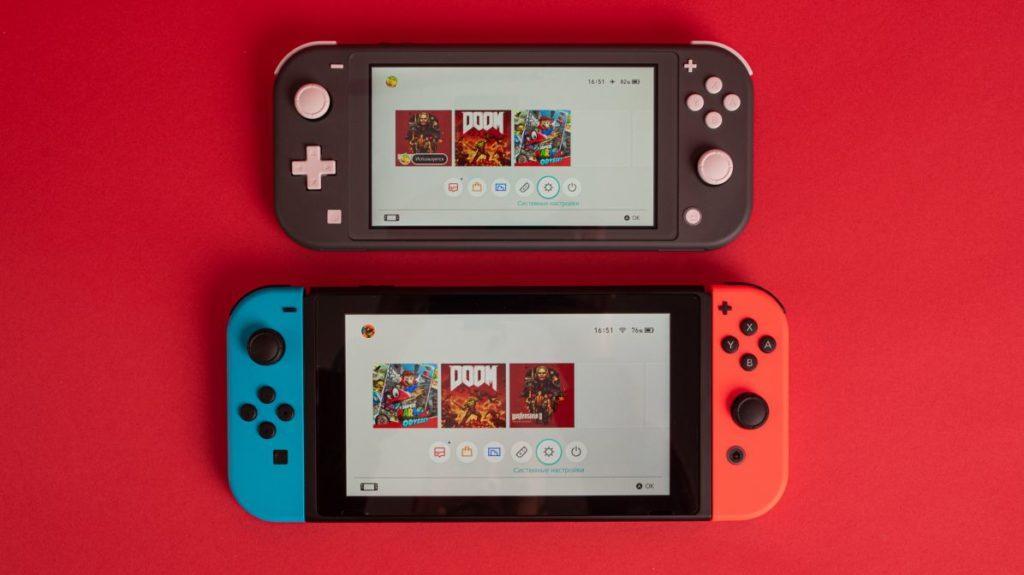 Описание Портативная игровая консоль Nintendo Switch Lite