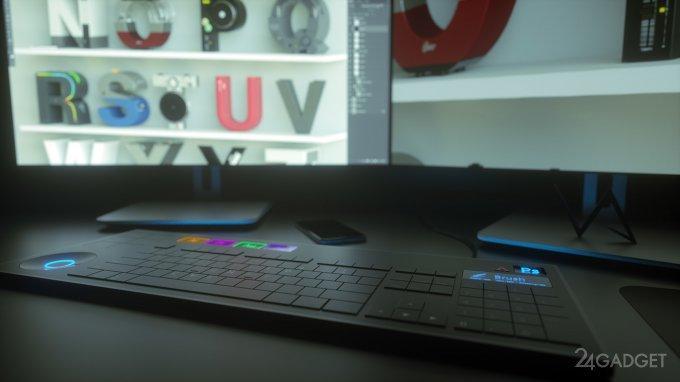 Adobe-клавиатура для художников и дизайнеров (8 фото)