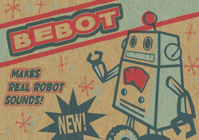 Bebot — Robot Synth – виртуальный синтезатор для iPhone и iPad с оригинальным интерфейсом