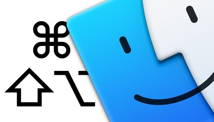 50 горячих клавиш (клавиатурных сокращений) Finder в macOS, которые должен знать каждый