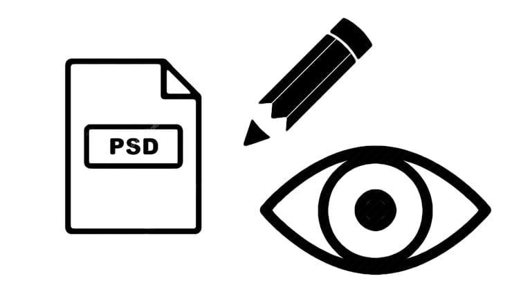 Как открыть файл в формате PSD без Фотошопа онлайн или на компьютере Windows и Mac