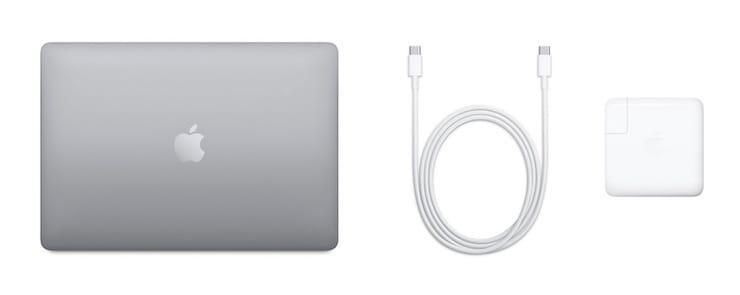 Комплект MacBook Pro 13 2020 (что в коробке)