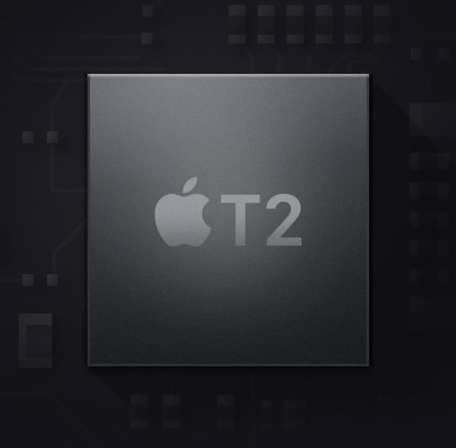 чип Apple T2 Security в MacBook Pro 2020