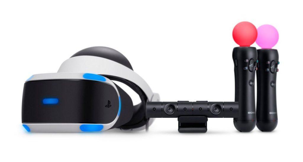 Sony обновила PlayStation VR