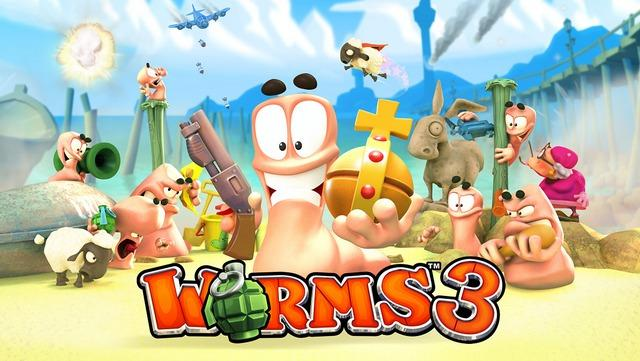 СКИДКА (379р → 79р) Игра Worms 3 для iPhone и iPad