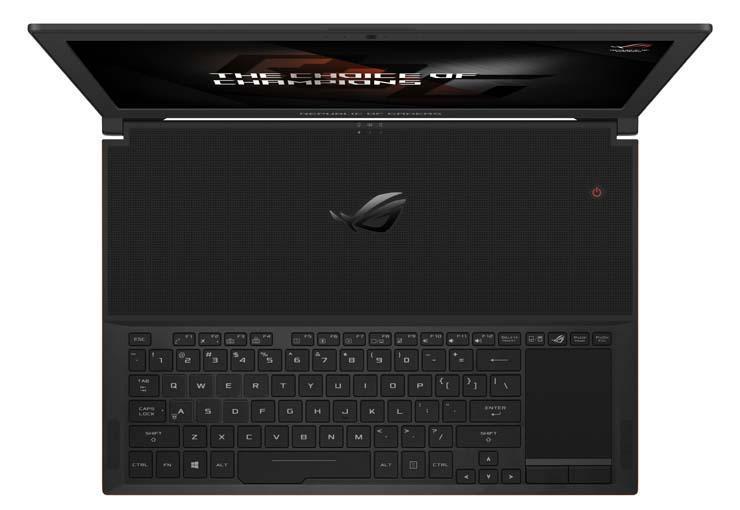 Стартовали продажи игрового ноутбука ASUS ROG Zephyrus GX501VI