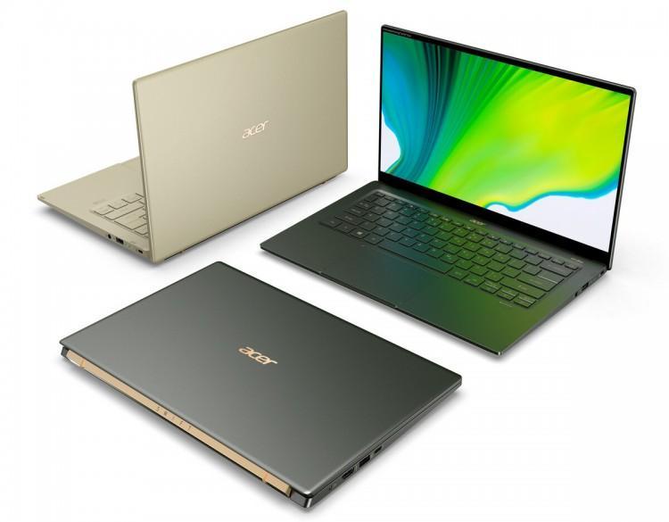 60636 Представлен ноутбук Acer Swift 5 SF514-55 на Intel Tiger Lake