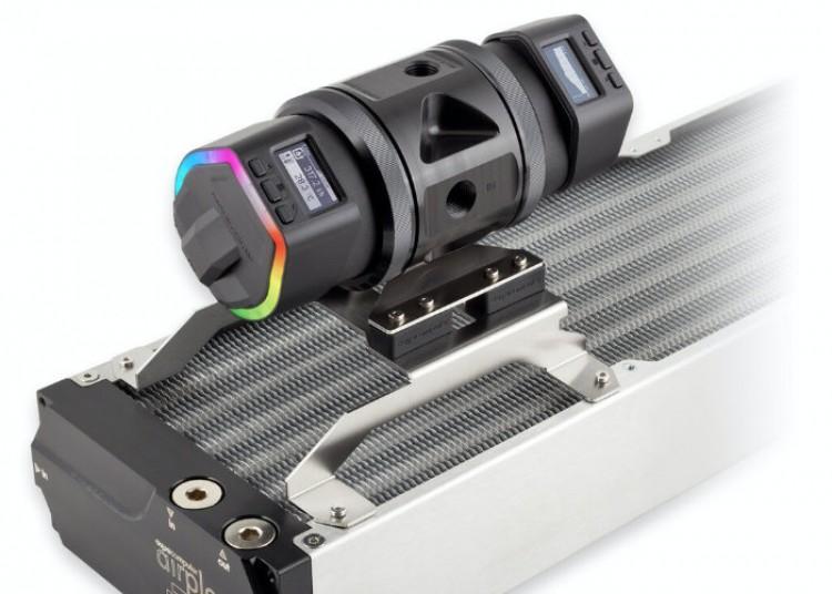 61054 Aqua Computer выпустила двойной насосный блок ULTITOP D5 DUAL