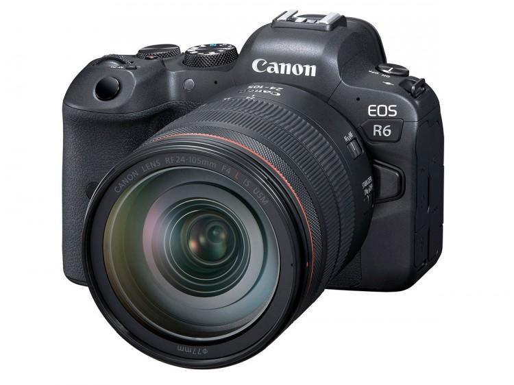 60825 Беззеркалка Canon EOS R6 будет стоить 2500 долларов