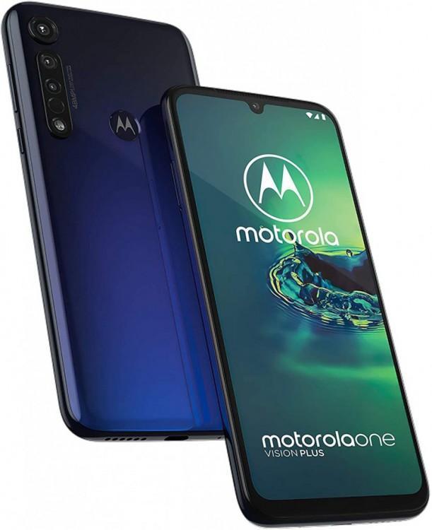 60841 Представлен смартфон Motorola One Vision Plus