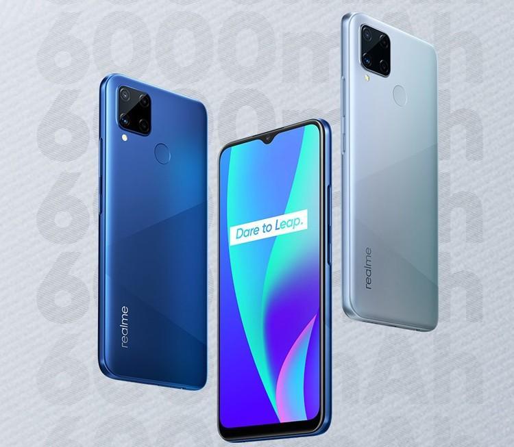 61021 Смартфон Realme C15 получит аккумулятор на 6000 мАч