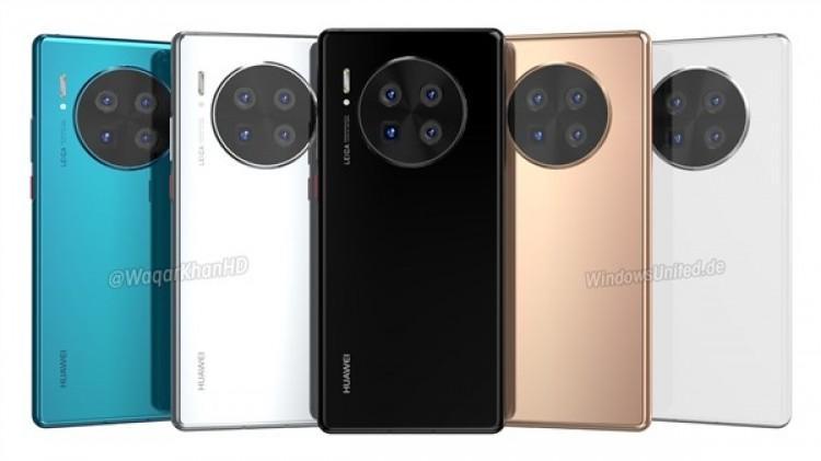 61338 Huawei Mate 40 Pro показали на новых рендерах