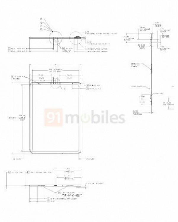 61415 Новый iPad получит узкие рамки и Face ID