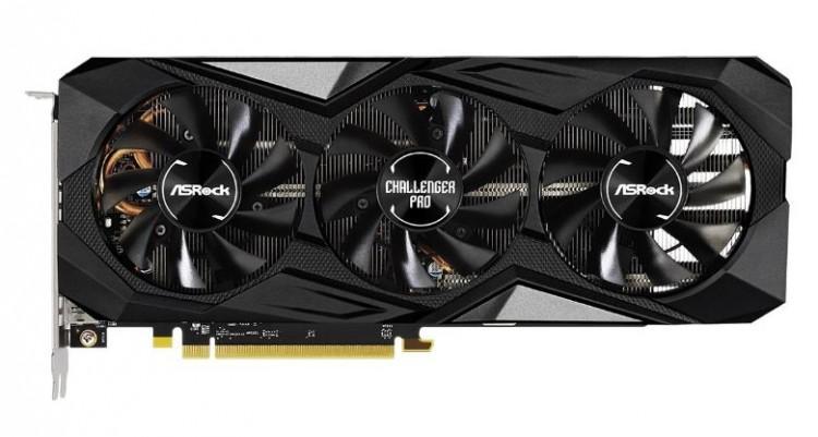 61126 Представлена улучшенная видеокарта ASRock Radeon RX 5700 XT Challenger Pro 8G OC