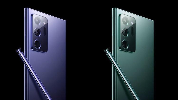 61133 Samsung Galaxy Note 20 получит уникальный чип
