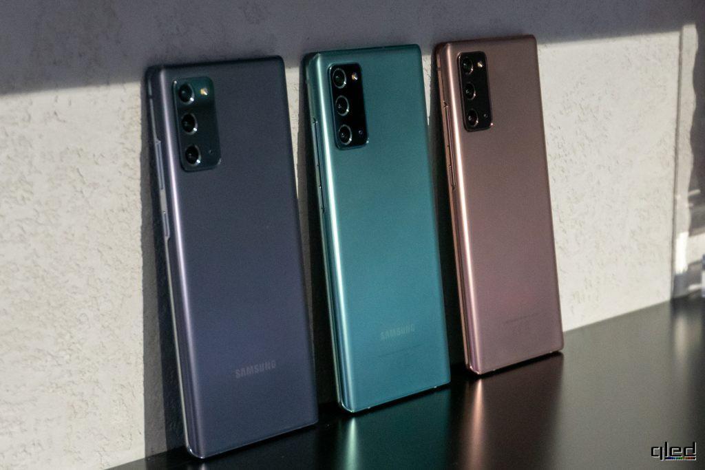 61355 Состоялся релиз нового флагмана Samsung Galaxy Note 20