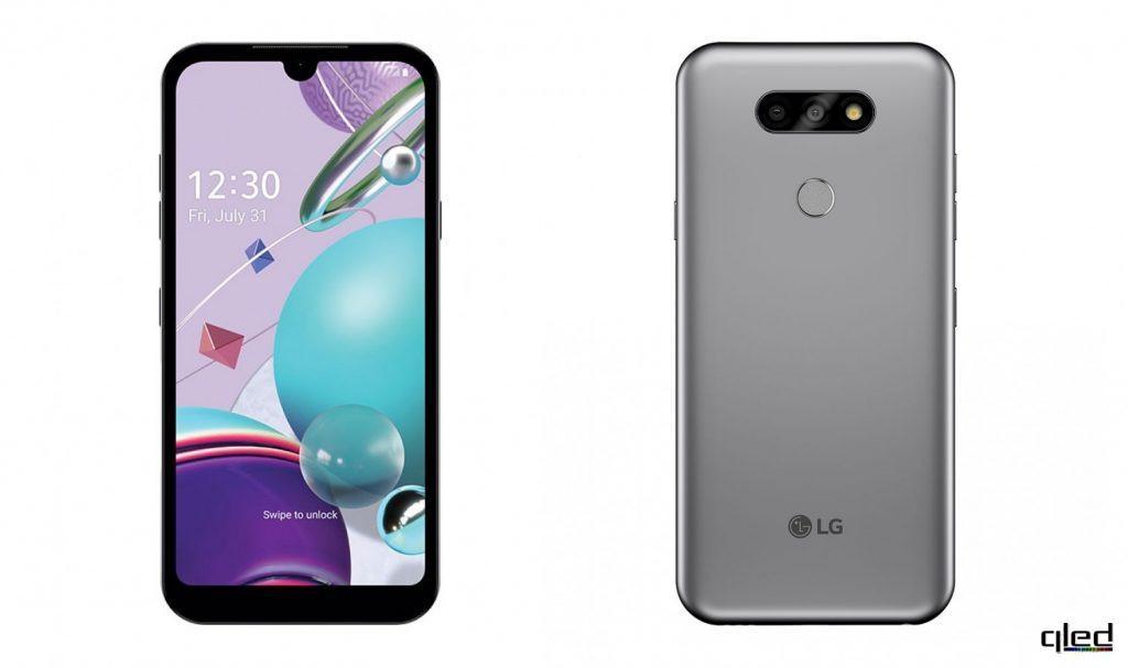 61457 Компания LG презентовала новый телефон начального уровня LG K31