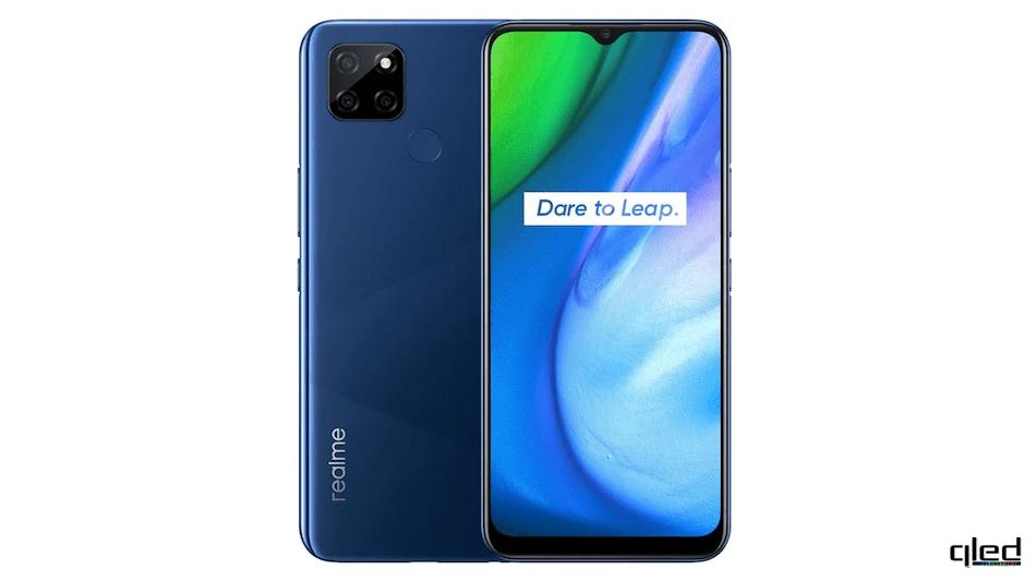 61616 Realme презентовала бюджетный 5G-смартфон Realme V3