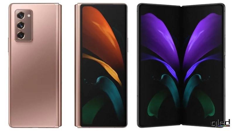 61659 Вышел складной смартфон Samsung Galaxy Z Fold 2