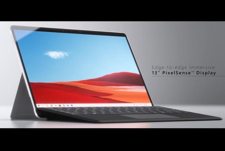 61682 Microsoft Surface Pro X получит более мощный процессор